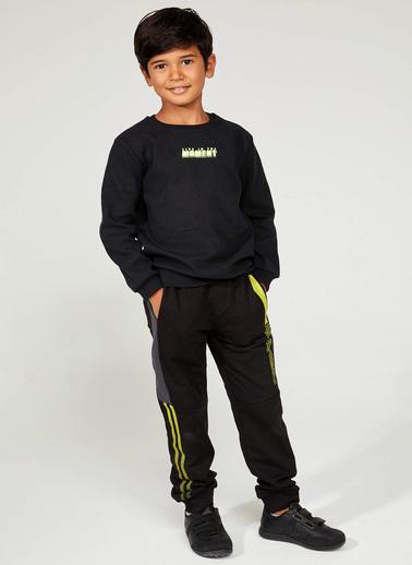 DeFacto Belden Bağlamalı Jogger Pantolon Siyah